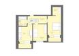 Жилой комплекс Да Винчи, дом 5: 2-комнатная 63,92 кв.м
