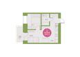 Арбан Smart на Краснодарской, дом 4: 2-комнатная 34 кв.м
