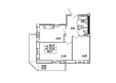 САДОВЫЙ, дом 10: Планировка двухкомнатной квартиры 59,31 кв.м