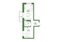 Life (Лайф), дом 1, б/с 1: Планировка 1-комн 43,91 м²
