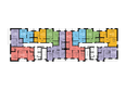 ДИАНИТ, 3 корпус: Планировка типового этажа
