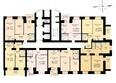 ДРУЖНЫЙ-3, дом 4: Блок-секция 1. Планировка 16 этажа