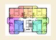 Жилой комплекс МОСТ: Планировка 8-16 этажей