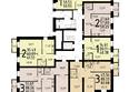 ПЯТЬ+, дом 1, корп 3: План типового этажа, 16 секция, 1 этаж