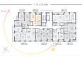 Жилой комплекс ДОМ НА САДОВОЙ: Планировка 7-15 этажей