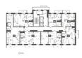 МАРТ, 1 б/с: Подъезд 1. Планировка типового этажа