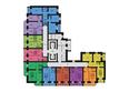 ФЕСТИВАЛЬ ж/к, 7 дом, 4 этап, 2 оч: Планировка 8-16 этажей