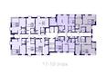 Никитина 128: Планировка квартир 17-19 этаж