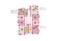 Арбан SMART (Смарт) на Шахтеров, д 2: Планировка типового этажа