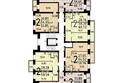 ПЯТЬ+, дом 1, корп 3: План типового этажа, 15 секция