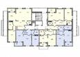 КОРИЦА, дом 6: Планировка 2-9 этажей