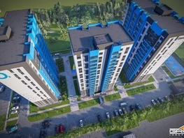 Продается 2-комнатная квартира ОЗОН (OZONE), корпус 2, 39.5  м², 2488500 рублей