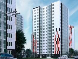 1-комнатная квартира, 60.7  м², 3-12/17 этаж