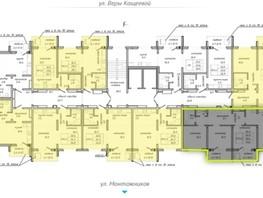 4-комнатная квартира, 73.6  м², 7/10 этаж