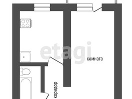 1-комнатная квартира, 33  м², 1/5 этаж