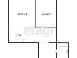 2-комнатная квартира, 37.4  м², 11/14 этаж