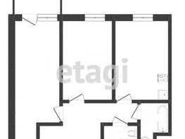 2-комнатная квартира, 59.85  м², 5/9 этаж