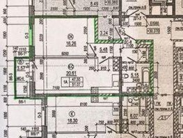 1-комнатная квартира, 51.1  м², 11/18 этаж