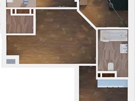 3-комнатная квартира, 70.03  м², 2-10/24 этаж