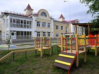 Открылся новый детский сад на улице Лисицкого