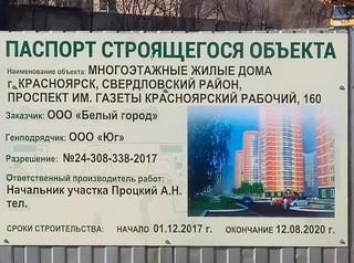 Решение по домам «Белого города» будет зависеть от наличия дольщиков