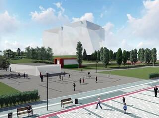 На Михайловской набережной появятся новые аттракционы и зеленый лабиринт