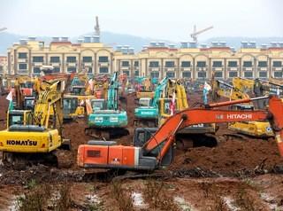 В Китае за шесть дней построят больницу для зараженных коронавирусом