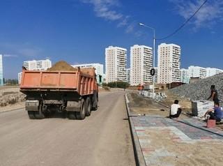 Построен первый участок нового выезда из Плющихинского жилмассива