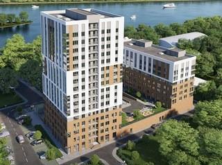 Жилой комплекс бизнес-класса с видом на Иртыш начали строить в центре Омска