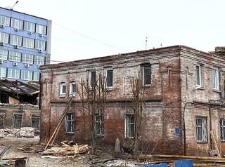 В администрации назвали законным снос старинных зданий на Вейнбаума