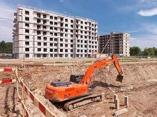 В Красноярске стало меньше новостроек, квартиру в которых можно купить на стадии котлована