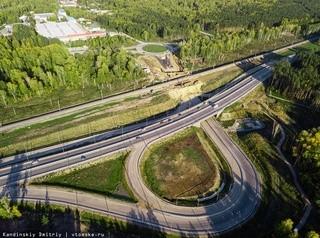 Развязку на 76-м километре железной дороги Томск – Тайга откроют для транспорта весной