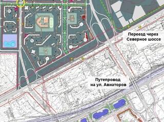 Переезд через Северное шоссе в «Солонцы-2» построят за два года