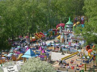 В Саянске появится парк с аттракционами