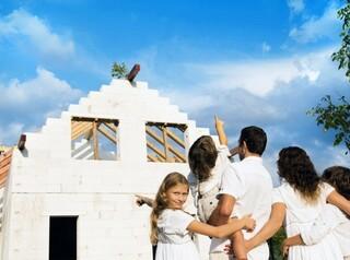 Многодетным выплатят 450 тысяч на ипотеку, взятую на строительство дома