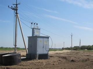 В загородном поселке Боровое приступили к прокладке электросетей