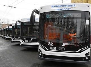 За полгода в Омске обновили почти половину троллейбусного парка