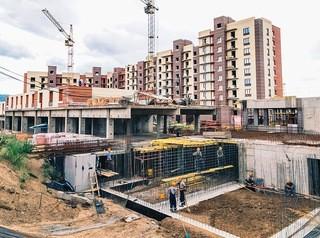 514,8 тысячи «квадратов» жилья сдали в Красноярском крае за 8 месяцев 2018 года