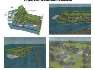 На берегу Абаканской протоки построят лодочную станцию