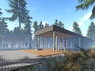 Архитекторы представили проект красноярского парка «Гремячая грива»
