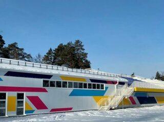 В Ангарске построили новый стадион