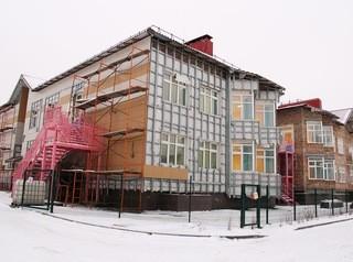 Детский сад в «Рябиновке» готов на 89%