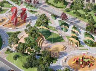Компания «Арбан» построит новый сквер на улице Молокова