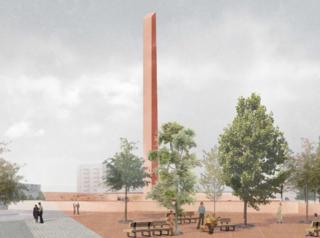 На Красной площади в Красноярске собираются построить уже частично надземную парковку