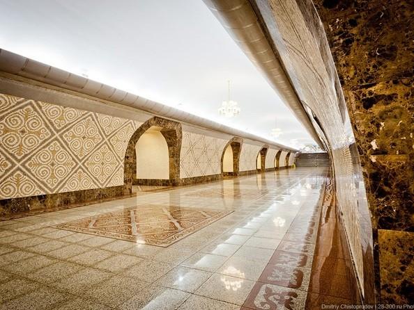 Станция метро «Алмалы»  Алматы