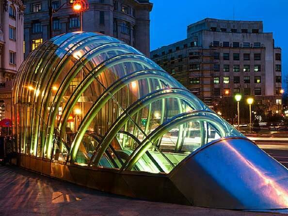 Станция метро в Бильбао