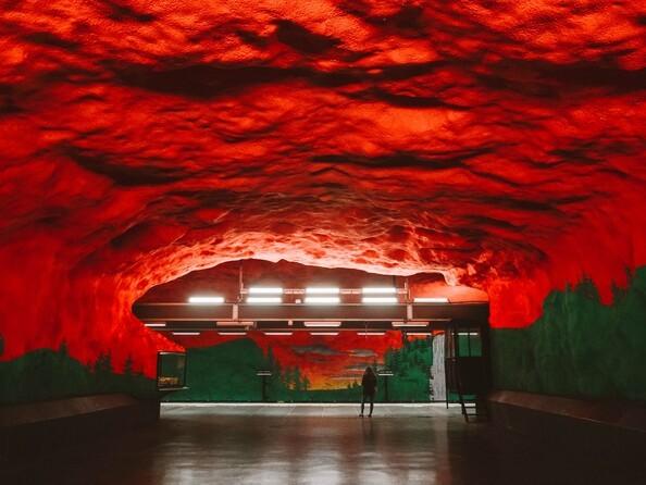 Станция метро Solna Centrum (Стокгольм)