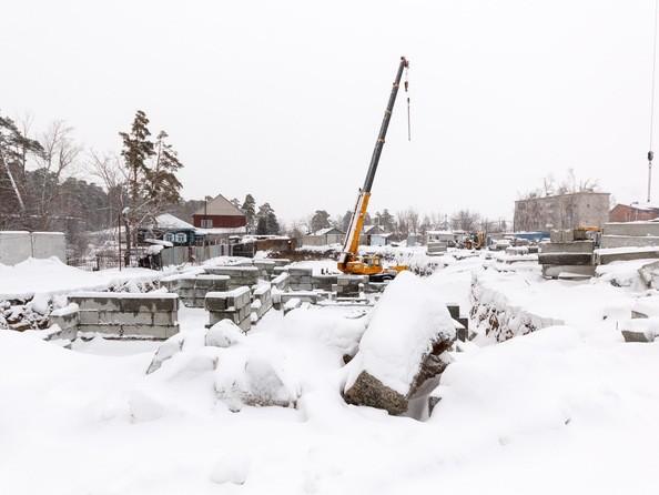 Фото Жилой комплекс ПАРКОВЫЙ, Б/С 1,2, Ход строительства 10 ноября 2018