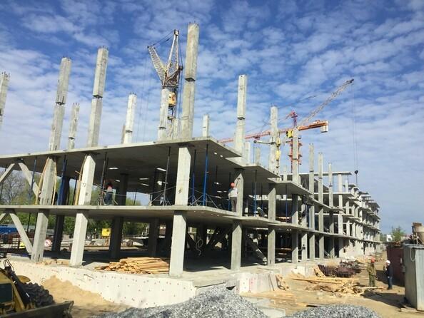 Фото Жилой комплекс АЭРОПОРТ, дом 1, Ход строительства 24 мая 2019
