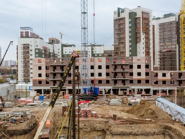 Ход строительства 22 октября 2020